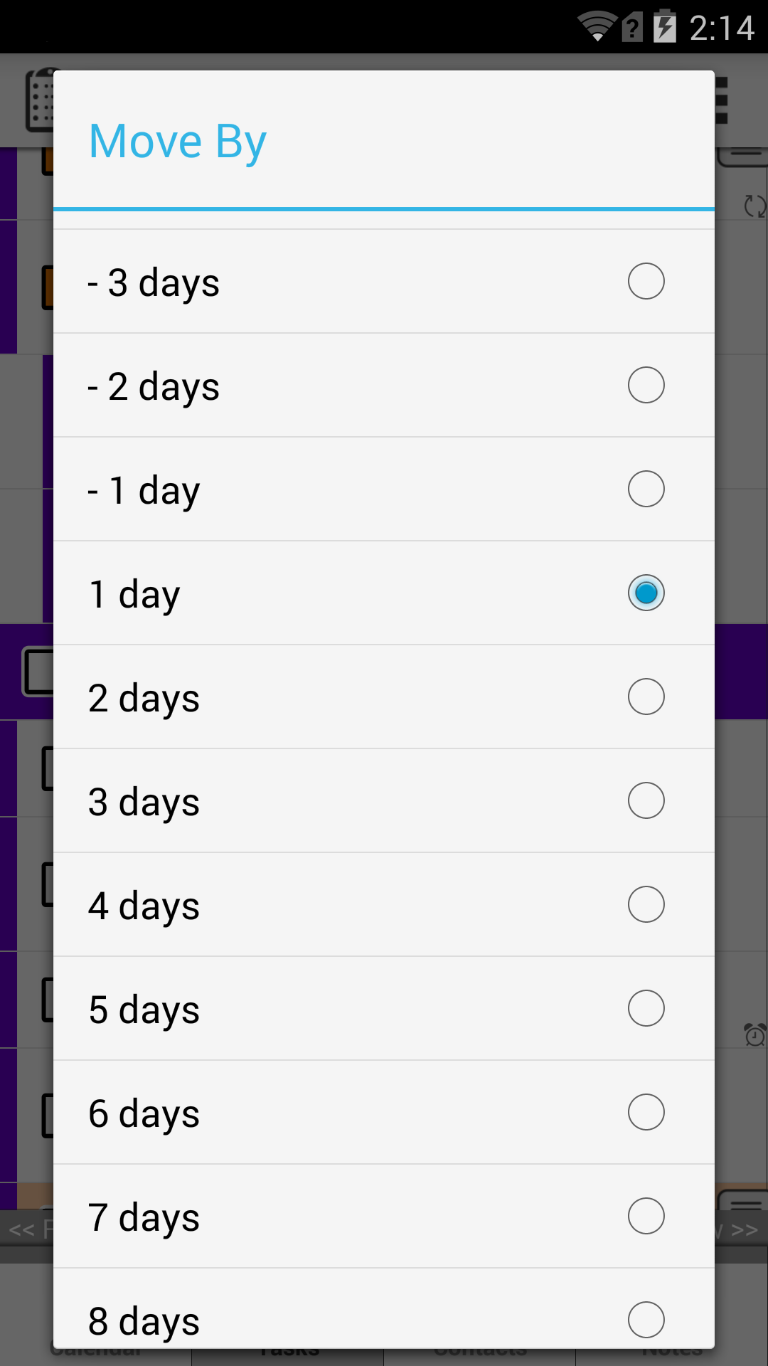 how to delete event from calendar in android