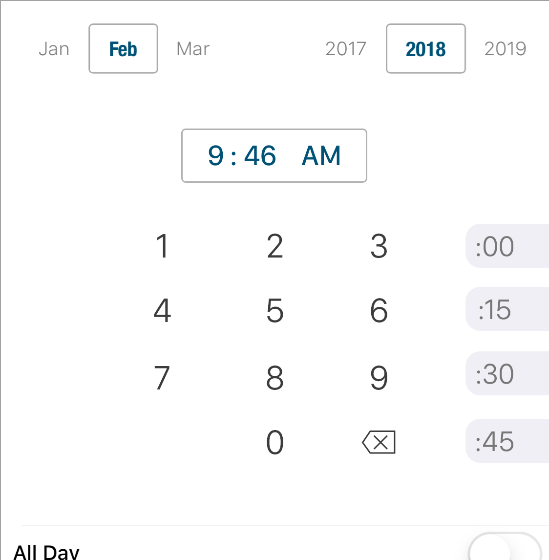 Time Picker Changes Coming to Informant 5 for iOS - Pocket Informant